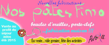 Nos pates fimo edition 2015 nouvelles fabrications