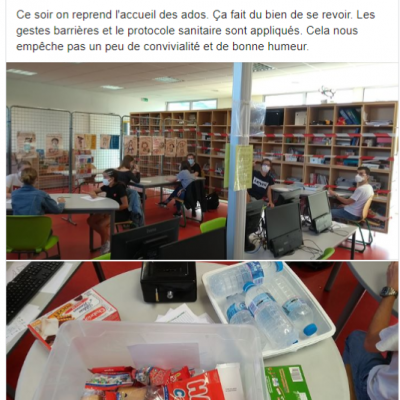 Post ados Facebook du 12 juin 2020